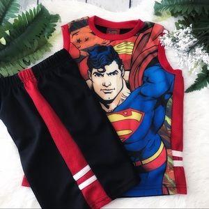 🌿Boys Superman Set